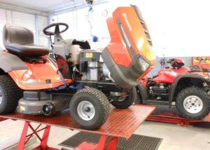 Repairs to lawnmower