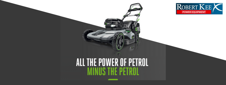 EGO Cordless Range – Petrol Power without the Petrol