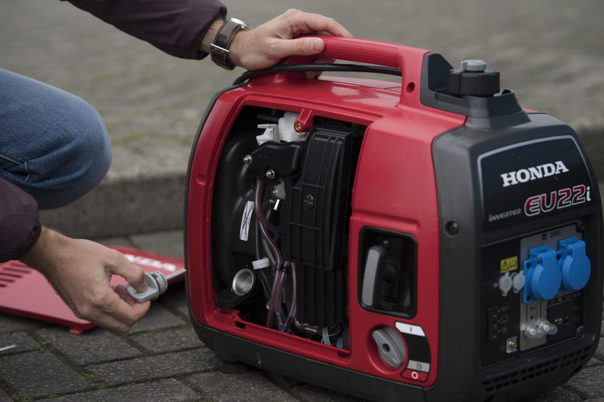 Get ready for Winter with a Honda Portable Generator
