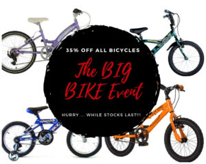 35% off all bicycles
