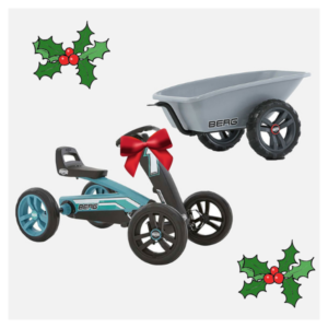 Buzzy go-kart and trailer