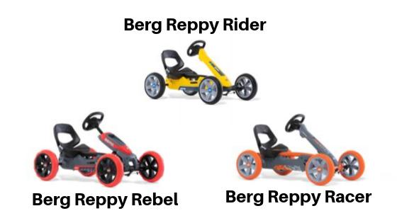 3 Berg Reppy Go-Karts