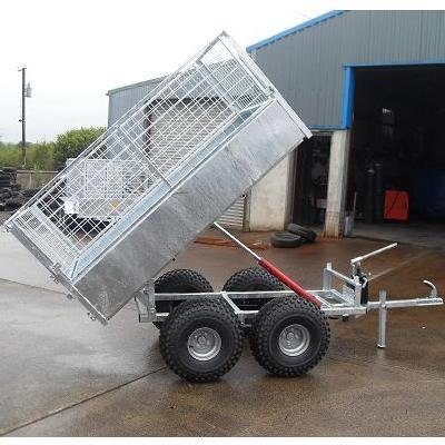 6ftx4ft Quad Tipping Trailer