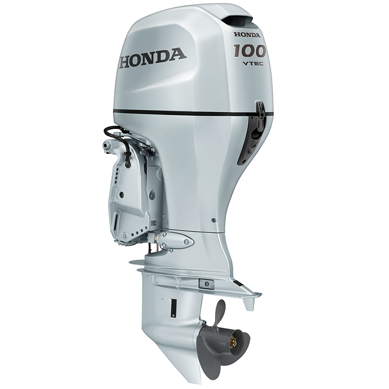 Honda BF100 Outboard Engine - Remote Control Steering