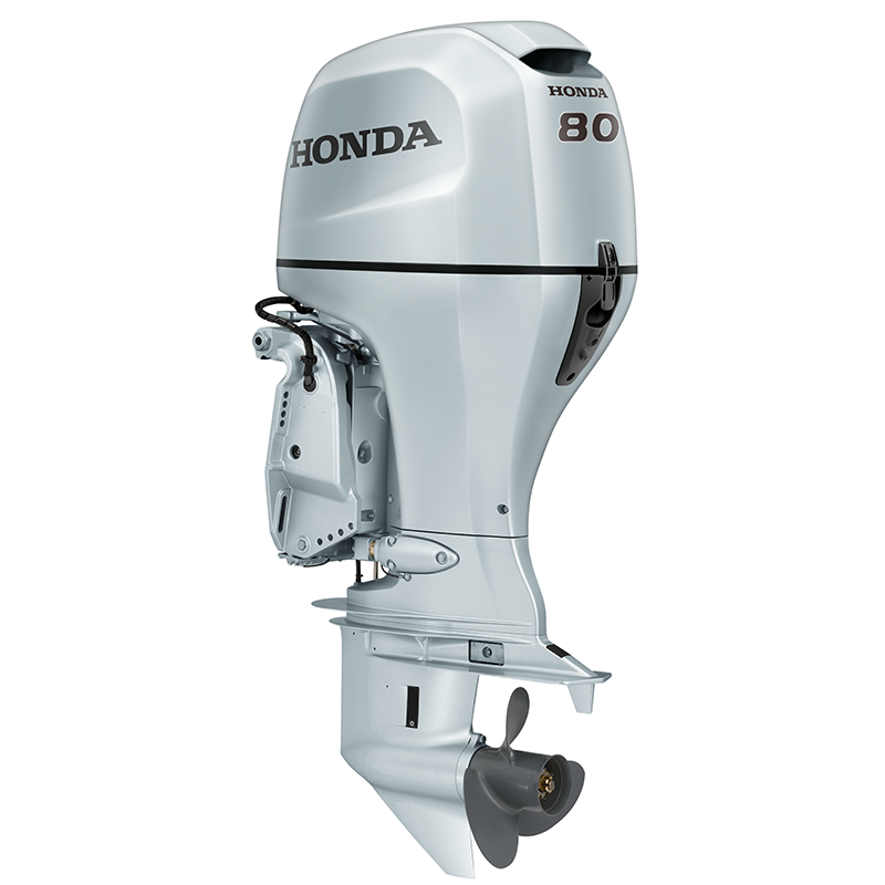 Honda BF80 Outboard Engine - Remote Control Steering