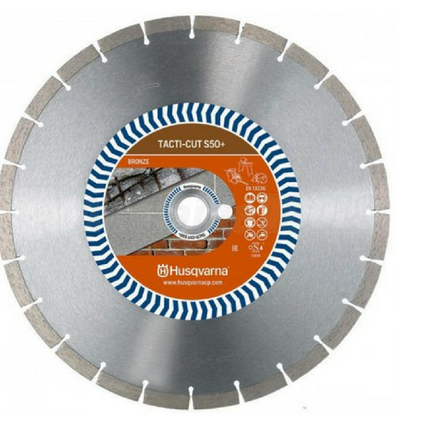Husqvarna Tacti-Cut S50+ Diamond Blades