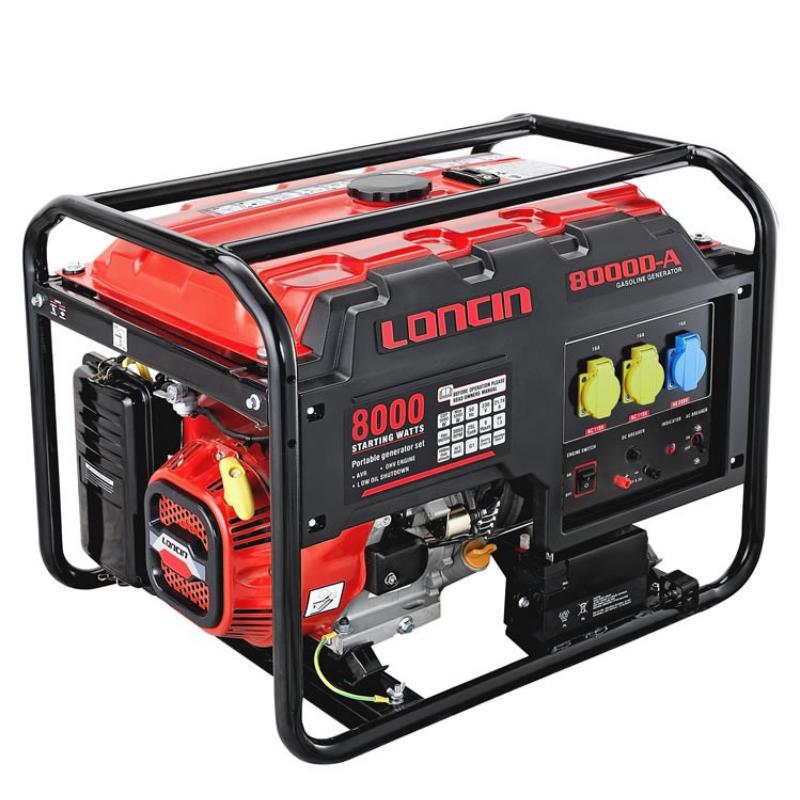 Loncin LC8000D-AS 7 5 Kva Petrol Generator   Robert Kee Power Equipment