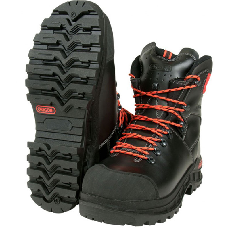 Oregon Leather Chainsaw Safety Boots