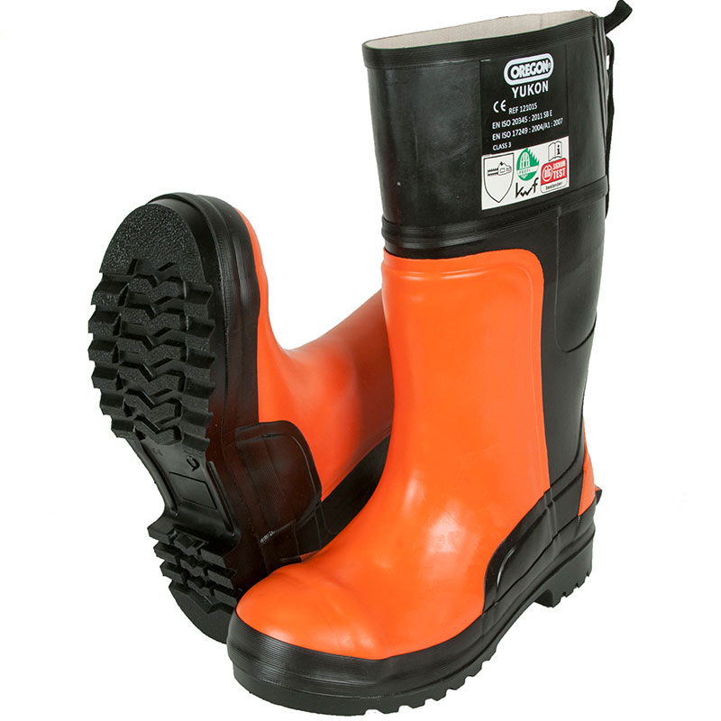 Oregon Yukon Rubber Chainsaw Protective Boots