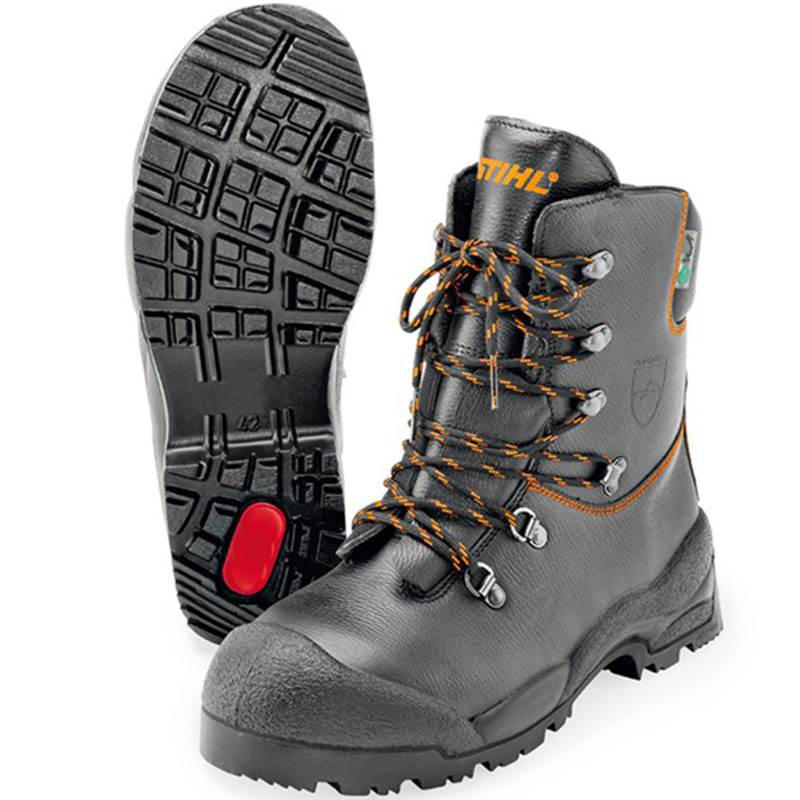 STIHL Function Leather Chainsaw Boots